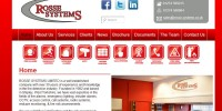 Website designed for Rosse Systems, Shipley
