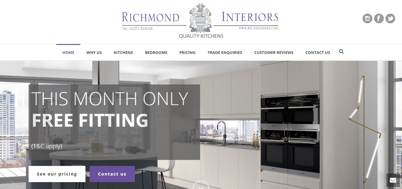 kitchen designers bradford - Saltaire Web Design