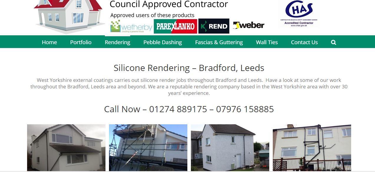 rendering company bradford