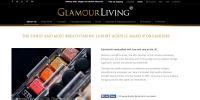 Website for Glamour Living, Bradford, UK