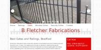 Website for gates, railings Bradford