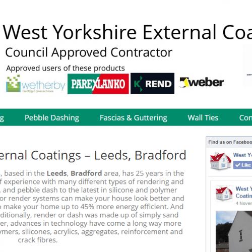 west yorkshire external coatings