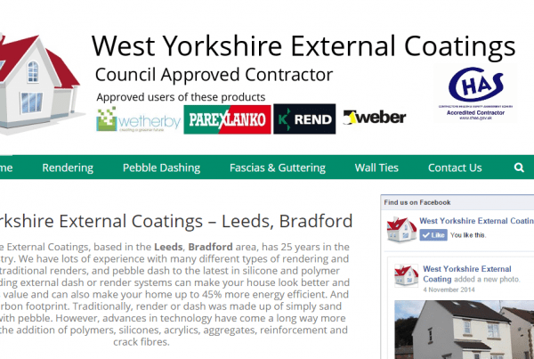 west yorkshire external coatings