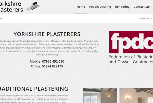yorkshire plasterers
