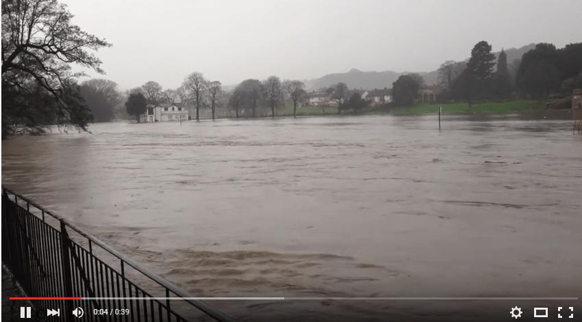 Video of Robert's Park in Flood