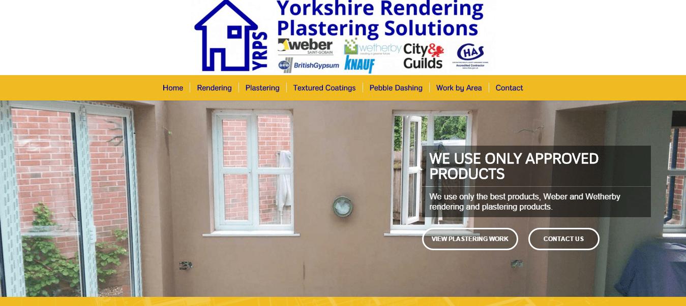 yorkshire rendering plastering solutions