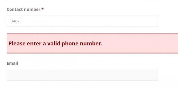 spam number