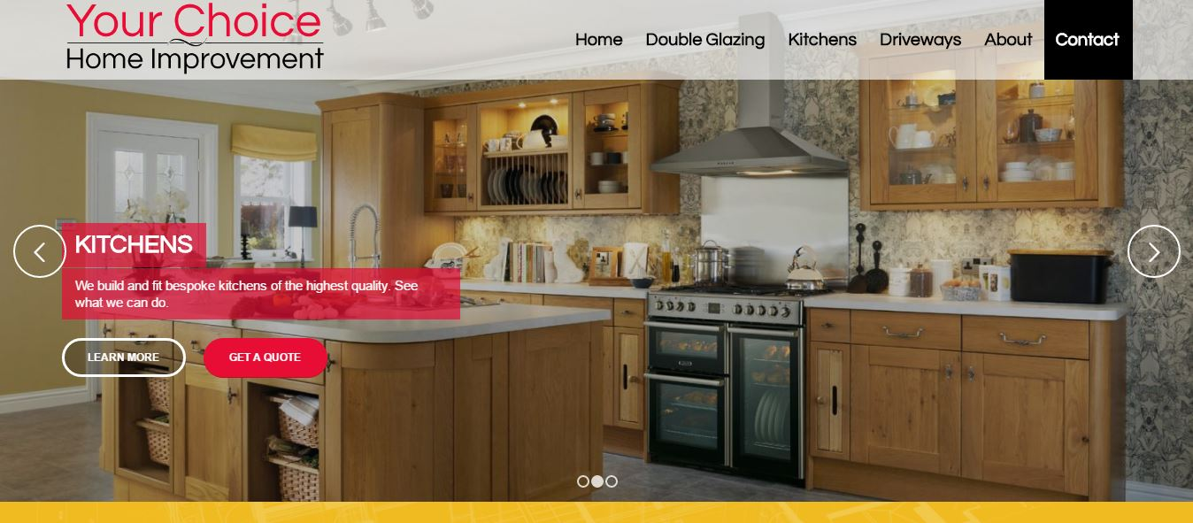 Your Choice Home Improvements Saltaire Web Design
