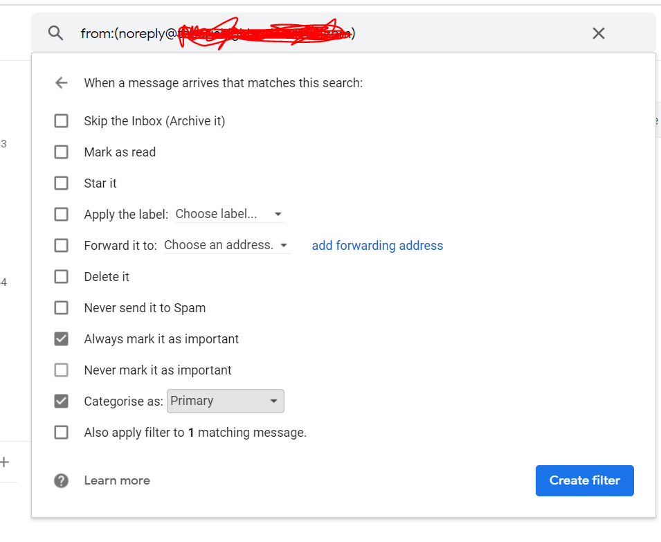 Stop Contact Form messages going into Junk (Gmail)
